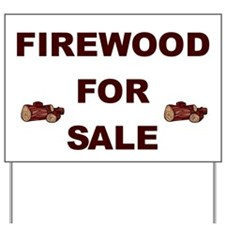 Firewood For Sale Yard Sign