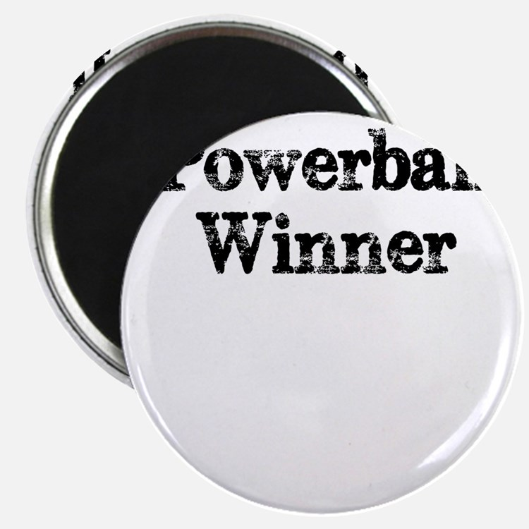 Powerball winner lotto jackpot Magnets
