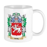 Toal family crest Small Mugs (11 oz)