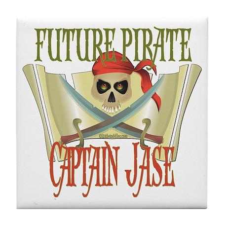 Captain Jase Tile Coaster