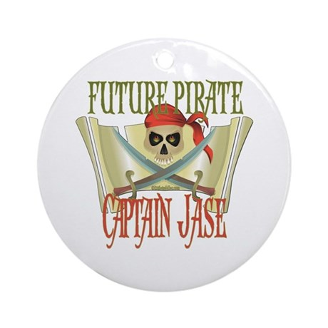 Captain Jase Ornament (Round)