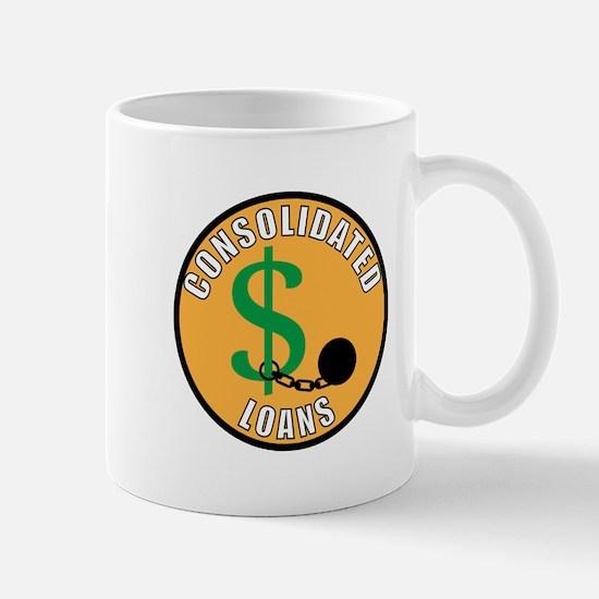 Adult Merit Badge: Consolidated Loans Mugs