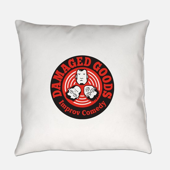 Dam Good Circle Logo Everyday Pillow