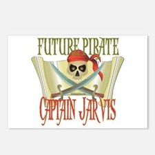 Captain Jarvis Postcards (Package of 8)
