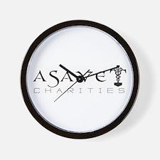 ASAVET Logo Wall Clock