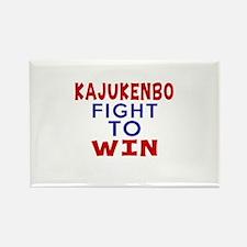 Kajukenbo Fight To Win Rectangle Magnet