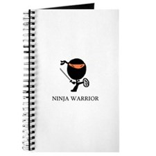 Cute Funny ninja Journal