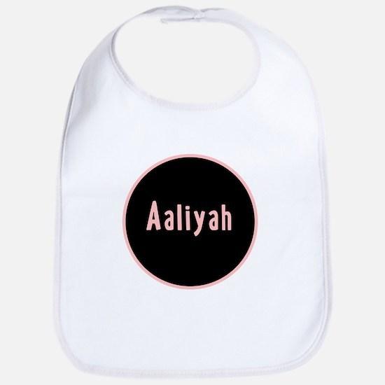 Pink Circle - Aaliyah Bib