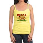 Pizza Maniac @ eShirtLabs.Com Jr. Spaghetti Tank