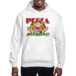 Pizza Maniac @ eShirtLabs.Com Hooded Sweatshirt