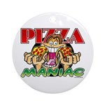 Pizza Maniac @ eShirtLabs.Com Keepsake (Round)