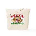 Pizza Maniac @ eShirtLabs.Com Tote Bag