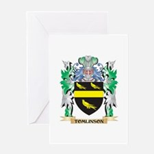 Tomlinson Coat of Arms - Family Cre Greeting Cards