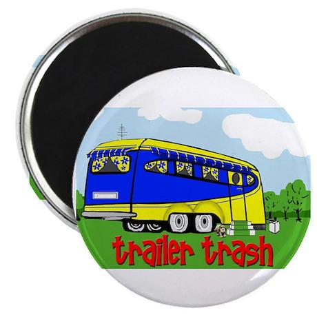 """Trailer Trash 2.25"""" Magnet (10 pack)"""
