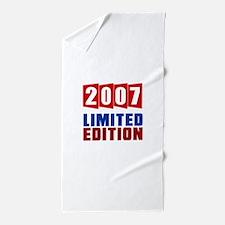 2007 Limited Edition Birthday Beach Towel