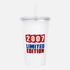 2007 Limited Edition B Acrylic Double-wall Tumbler