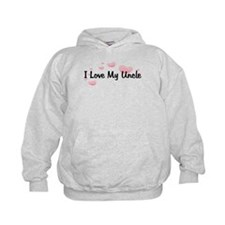 I Love My Uncle HEARTS Hoodie