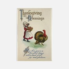 Thanksgiving Blessings Rectangle Magnet