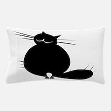 Unique Fat black cats Pillow Case