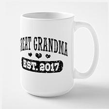 Great Grandma Est. 2017 Mug