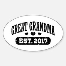 Great Grandma Est. 2017 Decal