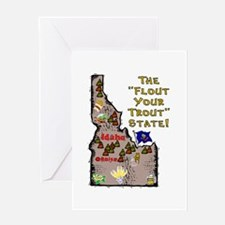 ID-Trout! Greeting Card