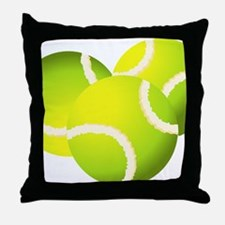 Unique Balls Throw Pillow