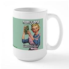 #0082 Marijuana Not Just For Hippies Anymore Ceramic Mugs
