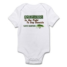 Americans In The Fight (Darfur) Infant Bodysuit