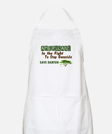 Americans In The Fight (Darfur) BBQ Apron