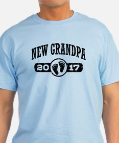 New Grandpa 2017 T-Shirt