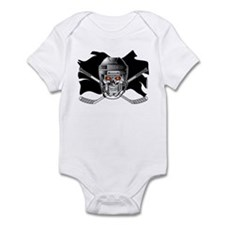 Pirate Hockey @ eShirtLabs.Co Infant Bodysuit