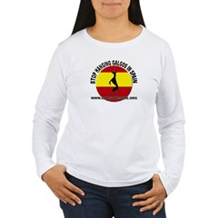 stop_hanging_galgorescue Long Sleeve T-Shirt