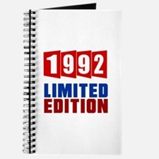 1992 Limited Edition Birthday Journal