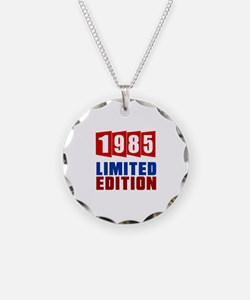 1985 Limited Edition Birthda Necklace