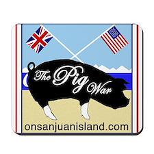 Pig War Mousepad