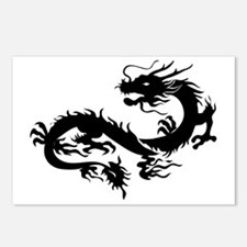 Cute Dragon Postcards (Package of 8)