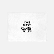 I Have Got Clarinet Skills 5'x7'Area Rug