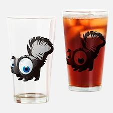 Unique Black squirrel Drinking Glass