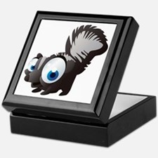 Unique Black squirrel Keepsake Box