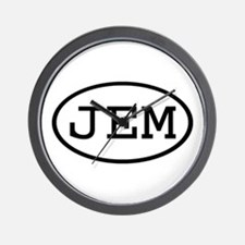 JEM Oval Wall Clock