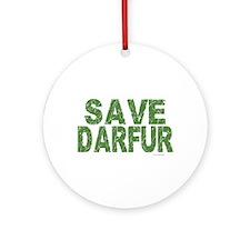 Save Darfur 1 Ornament (Round)