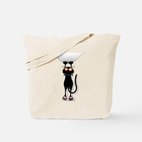 Unique Black cat Tote Bag