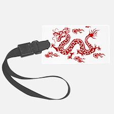 Unique The dragon Luggage Tag