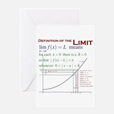 Definition of the Limit Greeting Card