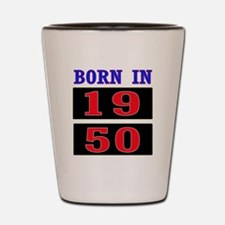 Born In 1950 Shot Glass