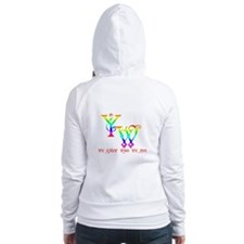 YW-WE KNOW WHO WE ARE Fitted Hoodie