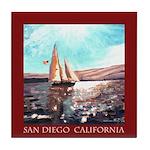 San Diego Souvenir Tile Coaster