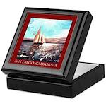 San Diego Souvenir Keepsake Box