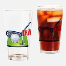 Unique Golf Drinking Glass